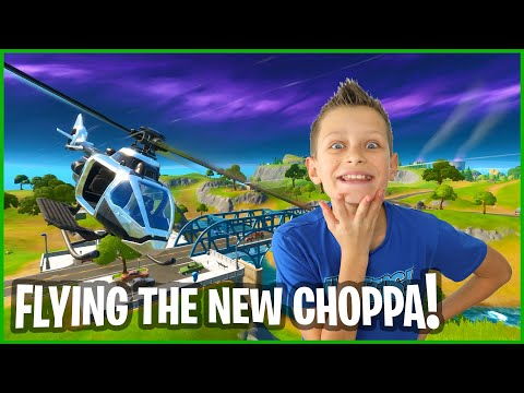 FLYING THE NEW CHOPPA!