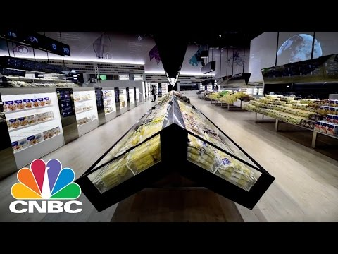 Supermarket Of Tomorrow: Robot Stacking Your Food | CNBC