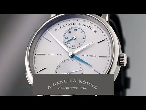 SAXONIA DUAL TIME – A. Lange \u0026 Söhne