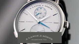 SAXONIA DUAL TIME – A. Lange & Söhne