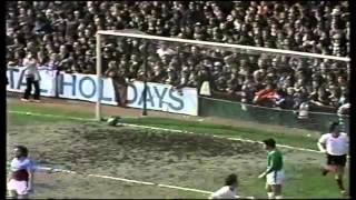 West Ham V Liverpool 1978