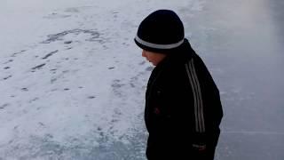 Рыбалка на р.Лепсы 10.01.2018г.