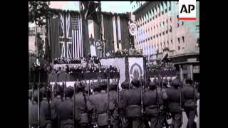 Scenes In Trieste; Tito Parade