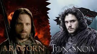 Friki Rap Battles: Aragorn vs Jon Snow
