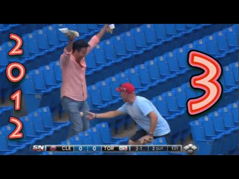 Funny Baseball Bloopers of 2012, Volume Three