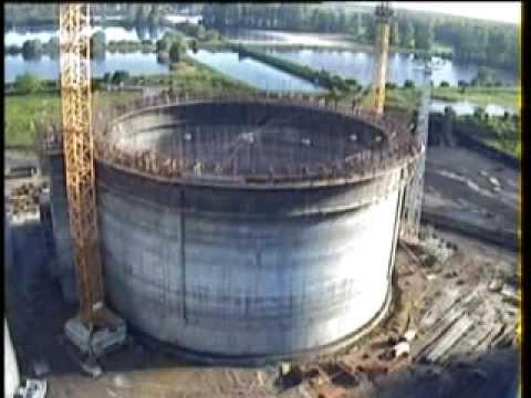 Opalenica silos - Film z budowy