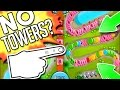 Bloons TD Battles :: WHY DOES THIS GUY HAVE NO TOWERS?! DOMINATING ARENA