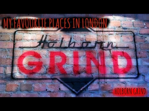 5 PLACES TO WORK FROM IN LONDON | HOLBORN GRIND | VLOG