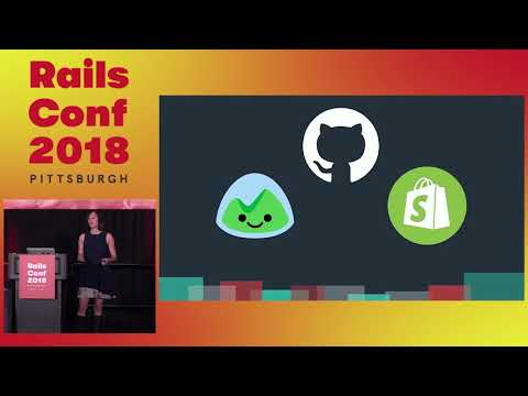 RailsConf 2018: Keynote: The Future of Rails 6: Scalable by Default by Eileen Uchitelle