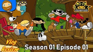 VlogReviews: Codename: Kids Next Door - Season 1 Episode 1 REVIEW!!!