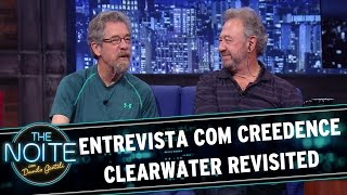 The Noite (03/11/15) - Entrevista com Creedence Clearwater Revisited
