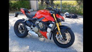 Essai DUCATI STREETFIGHTER V4 S !! Meilleur moto que j'ai conduit ! #ducati #ducatistreetfighterv4