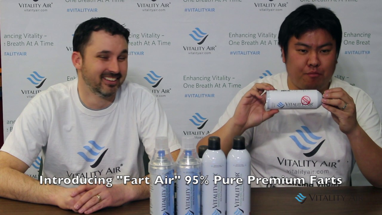 Vitality Air - Fart In A Bottle - YouTube