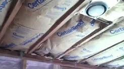 Insulation R-38 Ceiling