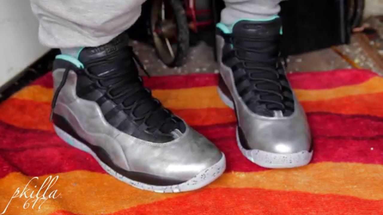 a6e094b03ee Air Jordan lady liberty 10 On Feet video! - YouTube