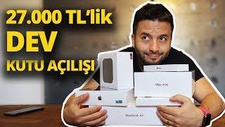 27.000 TL'lik DEV KUTU AÇILIYOR! - Yeni iPad Pro, MacBook Air, Mac mini içerir!