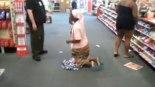 Crazy Jamaican Women goes off in CVS  [ ORIGINAL ]