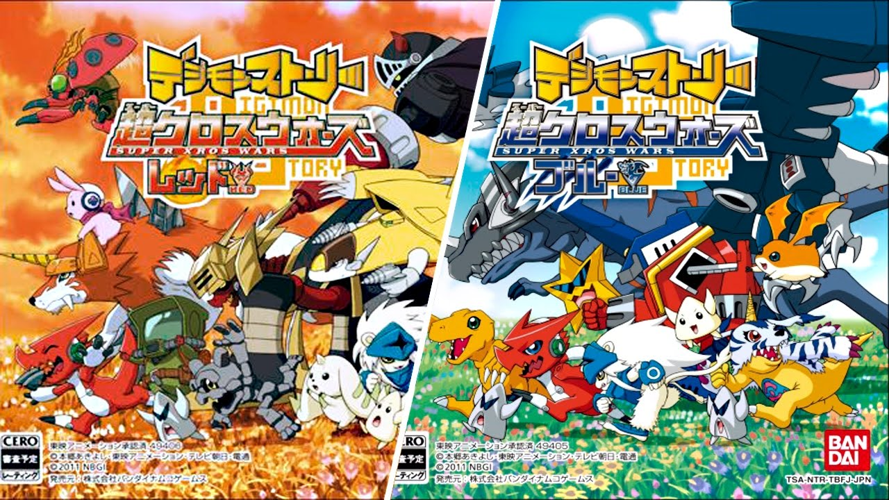 Descargar Digimon Story Super Xros Wars Red Blue Nds Japones Mg 2017 Youtube