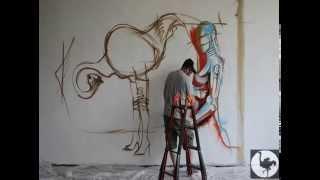 Graffiti en La Fábrica