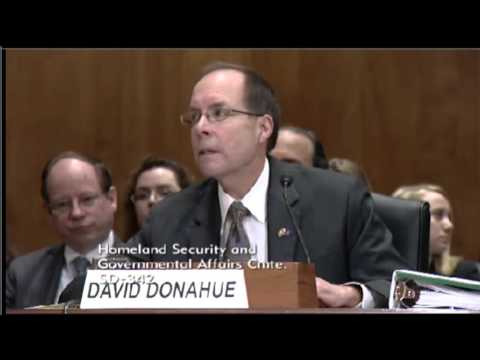 Senate Testimony on the Security of U.S. Visa Programs