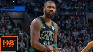 Kyrie Irving Gets Technical Foul / Celtics vs Nets