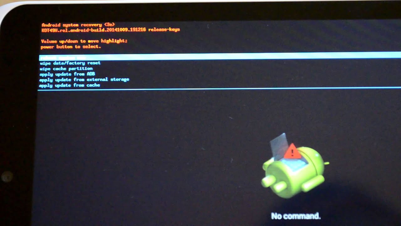 How to fix a new Hudl2 update reboot loop