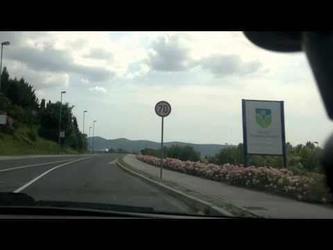 Driving around Nova Gorica