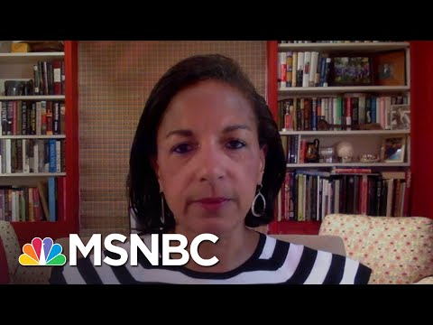 Susan Rice: Trump Administration 'Has Been Racist To Its Core'   Andrea Mitchell   MSNBC