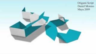 Origami Maya Script