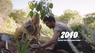 An interview with Damon Gameau, director of 2040