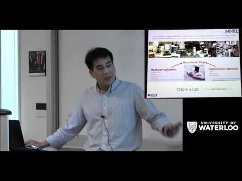 Professor Leslie Yeo  - Waterloo Institute for Nanotechnology (WIN) Seminar