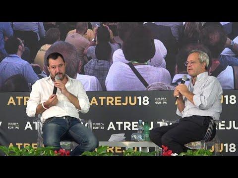 """Governo, Salvini: """"No a maggioranza con Berlusconi, insieme solo alle regionali"""""""