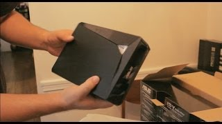 Unboxing and Showing the ASUS External USB 3.0 12x Blu-ray writer. Features.
