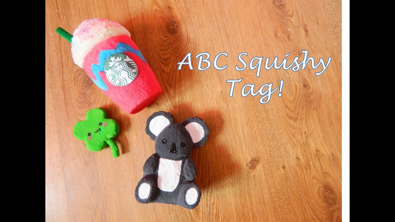 Homemade Squishy Tags : ABC Homemade Squishy Tag!!! Collab with Kenn and Sid inc. - YouTube