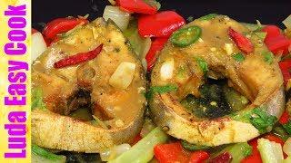 АЗИАТСКАЯ КУХНЯ РЫБА С ОВОЩАМИ! Очень Вкусно! Вьетнамская Кухня | Asian Style Fish Recipes