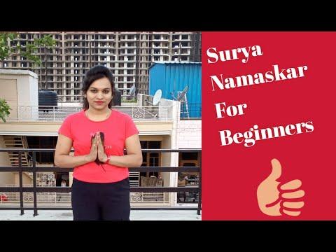 surya namaskar for beginners  youtube