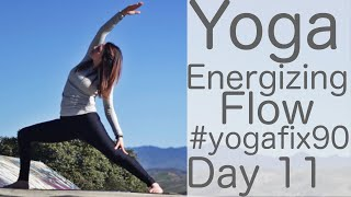 36 Minute Yoga Energizing Flow Day 11 Yoga Fix 90 with Fightmaster Yoga
