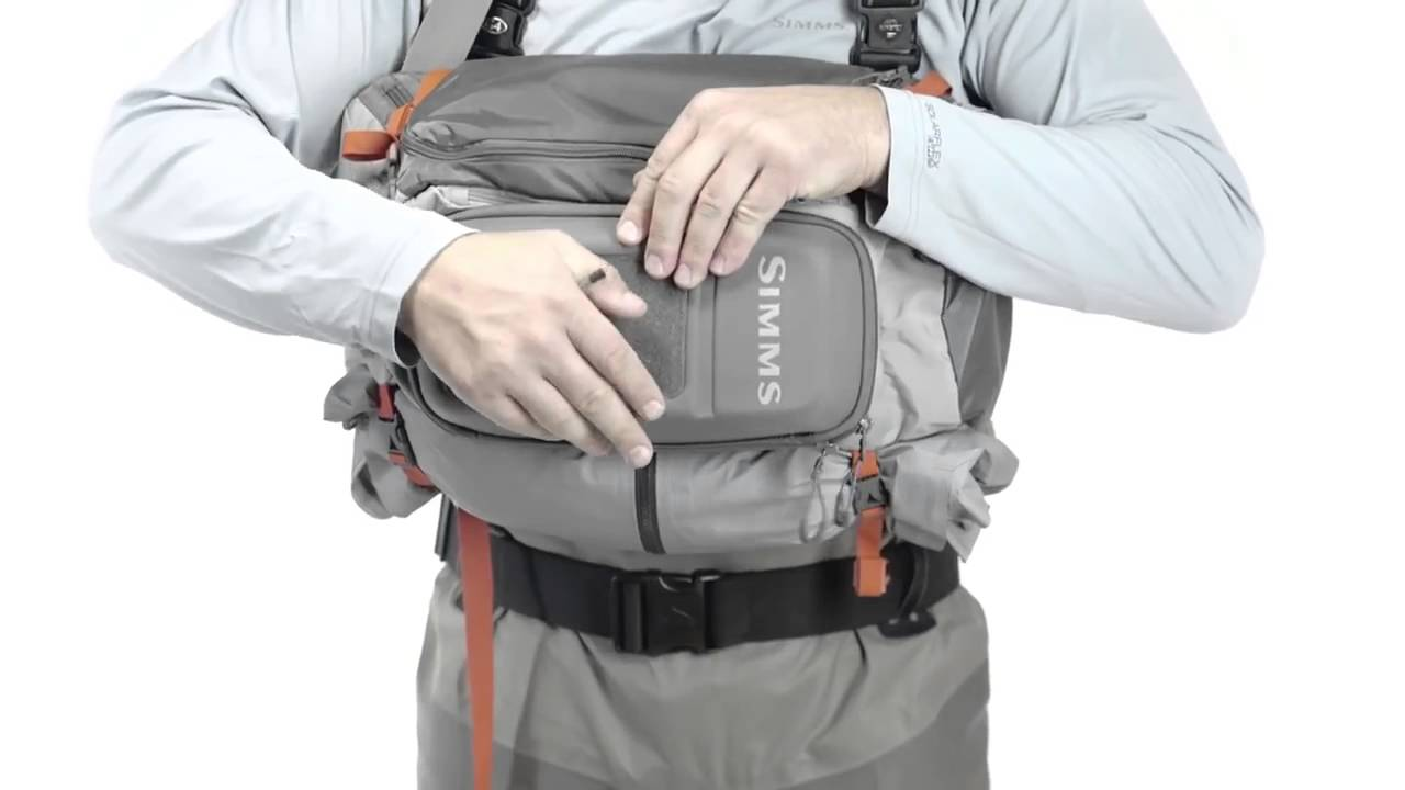 b4d1ec876313 Simms Waypoints Sling Pack from Fishtec - YouTube