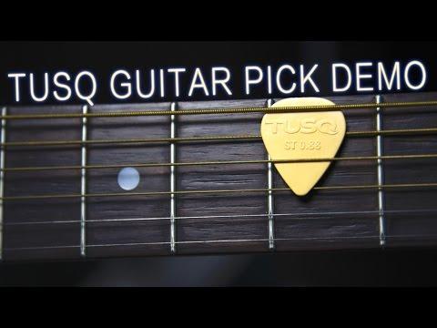 Tusq Guitar Pick Demo