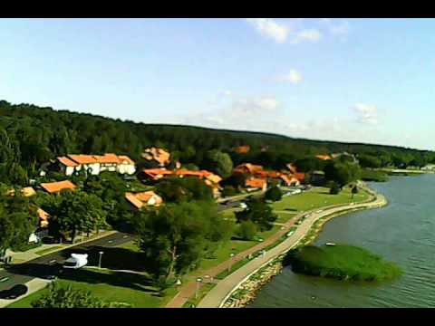 Hubsan X4 drone flight at the Curonian Spit in Lithuania