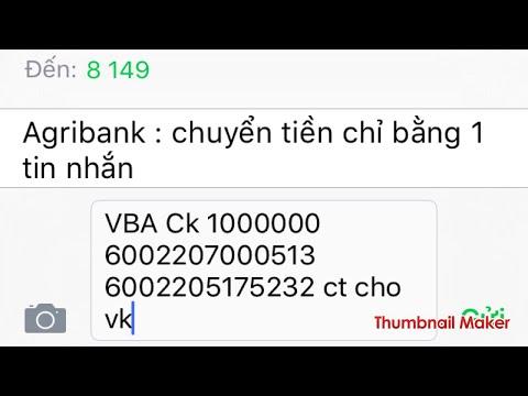 Thẻ ATM đăng Ký Tin Nhắn CÓ THỂ CHUYỂN TIỀN NHANH NHƯ CHỚP ...