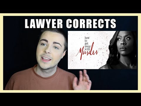 LAWYER REVIEWS How To Get Away With Murder | Legal Drama Review