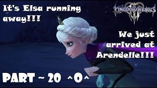 Elsa running away!!! | Kingdom Hearts 3 (No Commentary) ~ Part 20