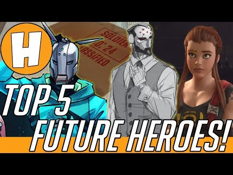 Overwatch - Top 5 Potential Future Heroes (Hero 27 Speculation - Lynx, Maximilien + More!) | Hammeh