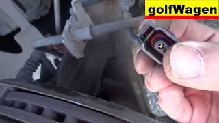 VW Golf ABS sensor replacement / VW Golf ABS fault code reset