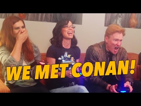 Playing Tiny Brains with Conan O