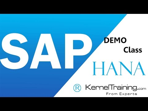 SAP HANA Video Tutorial For Beginners To Learn Basics