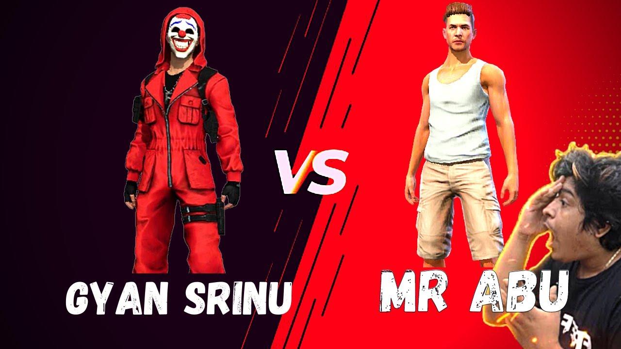 Gyan Gaming guild member Vs MR ABU | Pakistan Vs India | quickest headshots