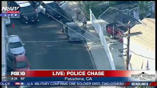 NOT OVER YET: Suspect Tricks Out Police During Chase (FNN)