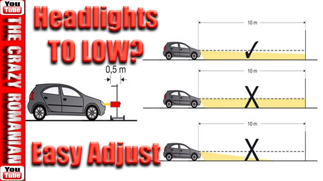 How To Adjust Headlights >> How To Adjust Align And Aim Headlights Perfectly